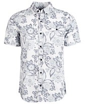 b29cfa5da6 Hurley Mens Casual Button Down Shirts   Sports Shirts - Macy s