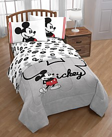 Mickey Mouse Jersey Classic 4-Pc. Twin Bed in a Bag