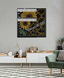 Flora Petals IV Floral Canvas Wall Art Collection