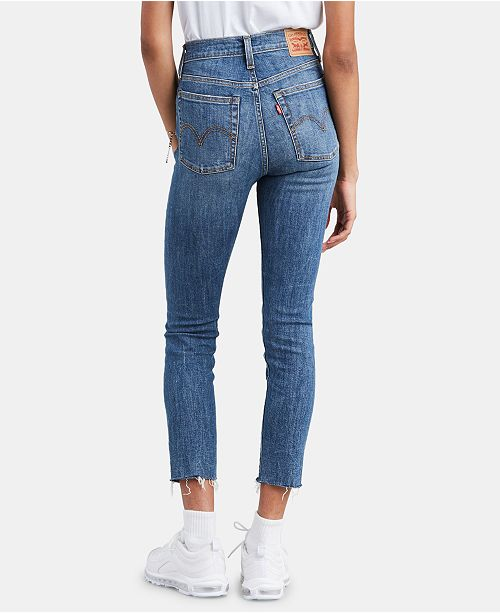 timeless design attractive & durable aliexpress Ripped Skinny Wedgie Jeans
