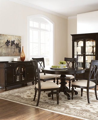 Bradford Round Dining Room Furniture Furniture Macy S
