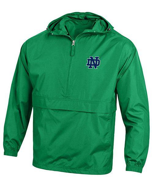 Champion Men's Notre Dame Fighting Irish Packable Jacket