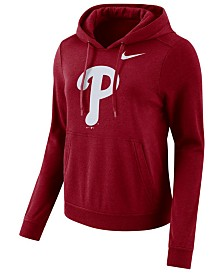 Nike Women's Philadelphia Phillies Club Pullover Hoodie