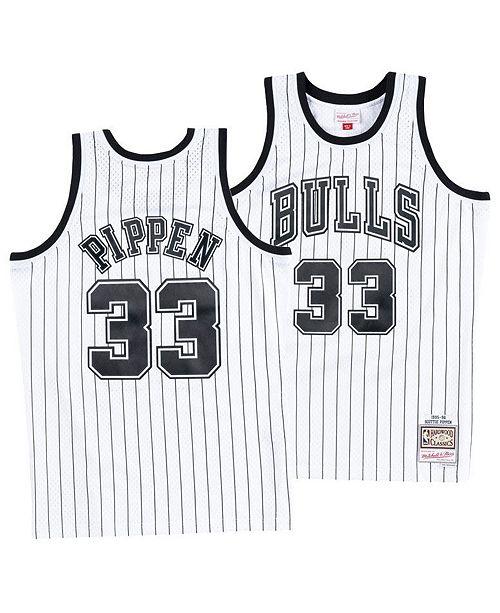 brand new c4a2e 4272c Men's Scottie Pippen Chicago Bulls Concord Collection Swingman Jersey