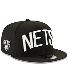 New Era Brooklyn Nets Enamel Script 9FIFTY Snapback Cap