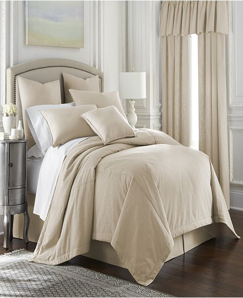 Colcha Linens Midnight Bloom Coverlet Set-Queen