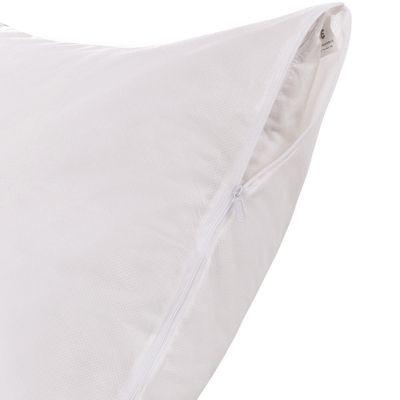 Permafresh Antibacterial and Water Resistant Bed Pillow Protector, 4 Pack