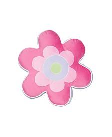 Levtex Home Merrill Girl Flower Shaped Pillow