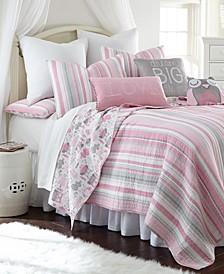Home Daniella Twin Quilt Set