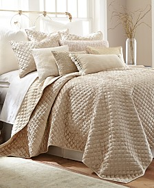 Levtex Home Champagne Velvet King Quilt Set