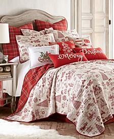 Home Yuletide Full/Queen Quilt Set
