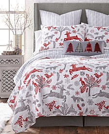 Home Winterland Full/Queen Quilt Set