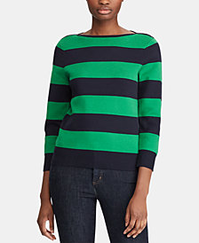 Lauren Ralph Lauren Striped Sweater