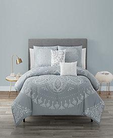 Kiara 5 Piece Comforter Set Queen