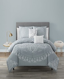 Kiara 5 Piece Comforter Set Queen
