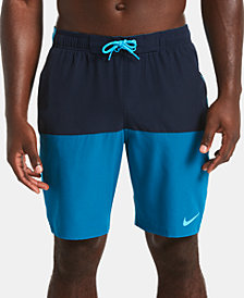 "Nike Men's Split Colorblocked 9"" Board Shorts"