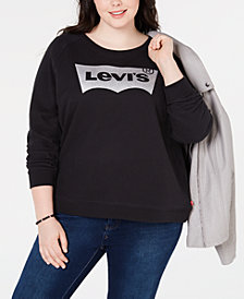 Levi's® Plus Size Logo Graphic Sweatshirt