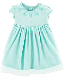 Carter's Baby Girls Embroidered Flower Tutu Dress
