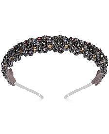 Deepa Two-Tone Crystal & Bead Headband
