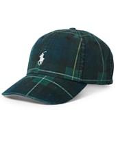 Polo Ralph Lauren Men s Tartan Baseball Cap cddabda90372