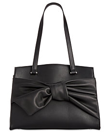 I.N.C. Bowah A-Line Satchel, Created for Macy's