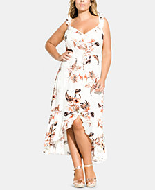 City Chic Plus Size Seville Maxi Dress