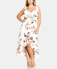 City Chic Plus Size Seville Maxi Dress