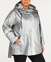4fb1935a459 Calvin Klein Performance Plus Size Crossover-Hood Jacket
