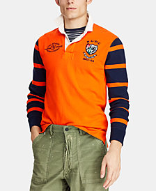 Polo Ralph Lauren Men's Striped Jersey Rugby Shirt