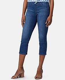 Pull-On Capri Jeans