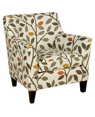 Ava Fabric Accent Chair 33 Quot W X 36 Quot D X 34 Quot H Furniture