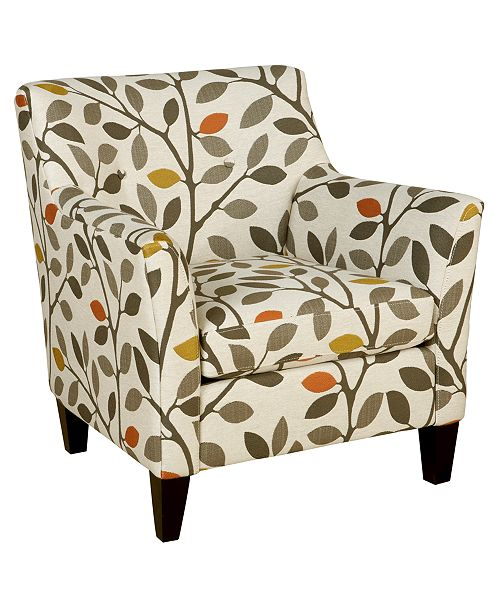 Furniture Ava Fabric Accent Chair