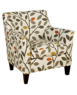 Ava Fabric Accent Chair, 33