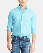 79ab85b728f28d Polo Ralph Lauren Mens Casual Button Down Shirts & Sports Shirts ...