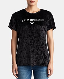 True Religion Velvet Graphic T-Shirt