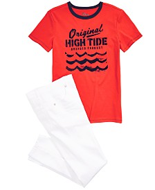 Epic Threads Big Boys T-Shirt & Jeans, Created for Macy's