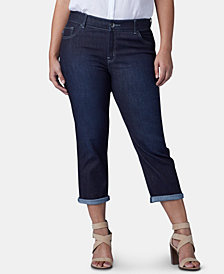 Lee Platinum Plus Size Flex Motion Capri Jeans