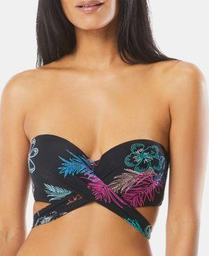 COCO REEF | Coco Reef Printed Five-Way Bikini Bra Top Women's Swimsuit | Goxip