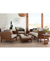 San Lazzaro Woven Outdoor Sofa Created For Macy S