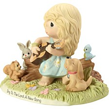 Sing To The Lord A New Song Figurine