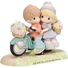 Precious Moments Life With You Is A Beautiful Journey Figurine