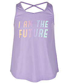 Ideology Big Girls Future-Print Tank Top, Created for Macy's