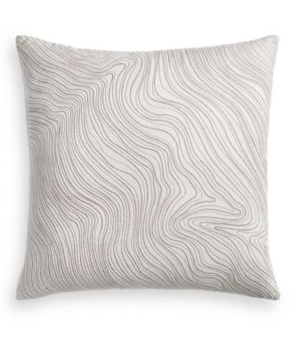 """Silverwood 22"""" x 22"""" Decorative Pillow, Created for Macy's"""