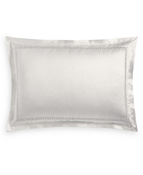 Hotel Collection Luxe Border King Sham, Created for Macy's