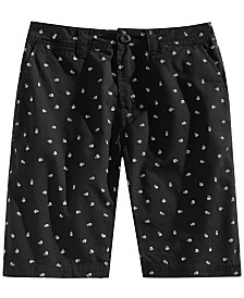Univibe Big Boys Skully-Print Chinos