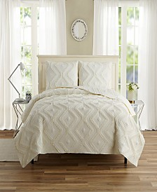 Ruffle 3 Piece Quilt Sets