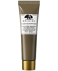 Origins Plantscription Retinol Night Moisturizer With Alpine Flower, 1 oz.