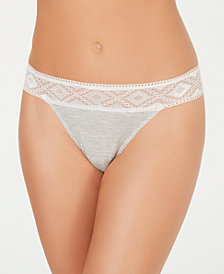 Cosabella Women's Adriana Lace-Detail Thong ADRIA0322