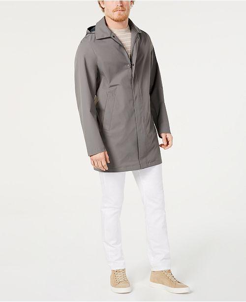 Calvin Klein Men's 3/4-Length Top Coat, Created for Macy's