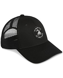 adidas Men's Reaction Logo Trucker Hat